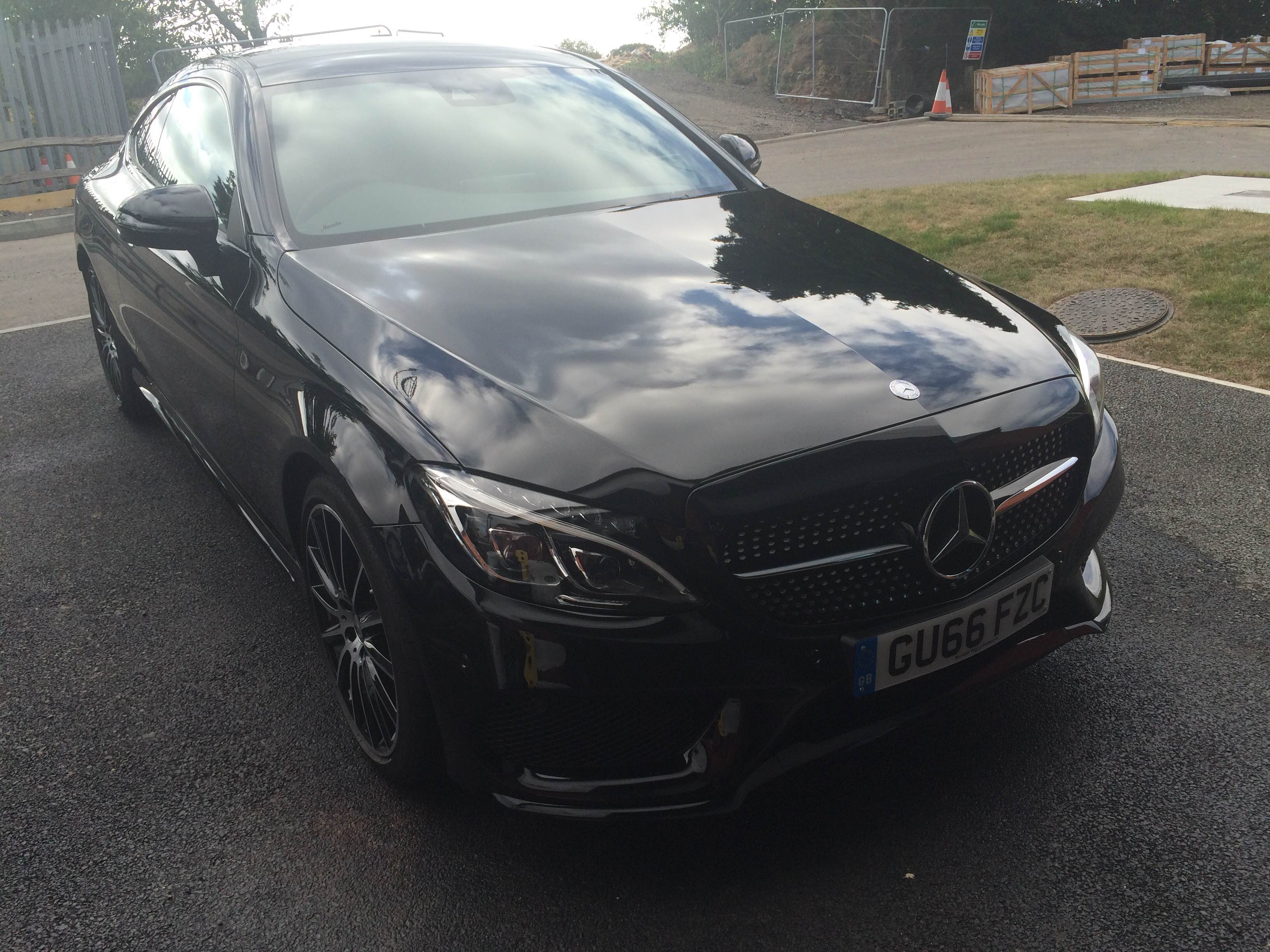 Mercedes Benz C300 Correction & Protection